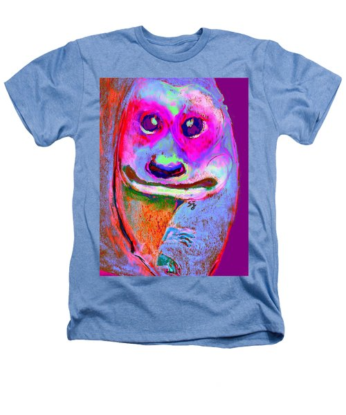 Funky Meerkat Tunnel Art Print Heathers T-Shirt