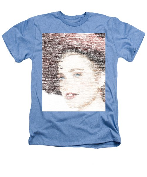 Grace Kelly Typo Heathers T-Shirt by Taylan Apukovska