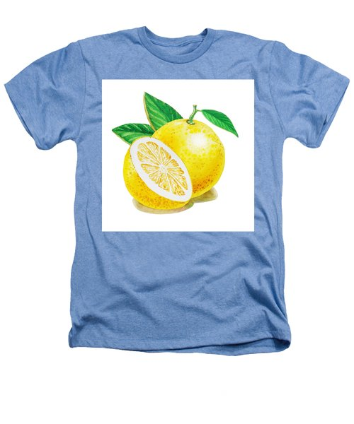 Happy Grapefruit- Irina Sztukowski Heathers T-Shirt by Irina Sztukowski