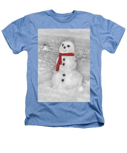 Holiday Snowman Heathers T-Shirt