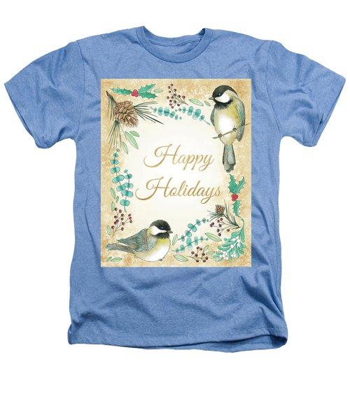 Holiday Wishes II Heathers T-Shirt