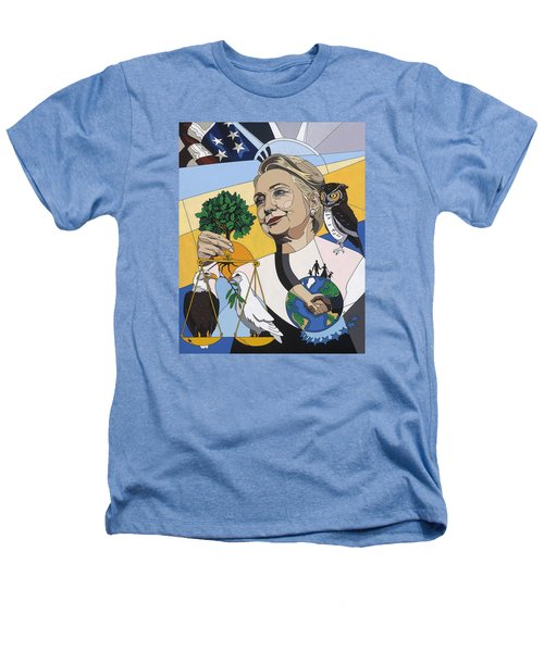 In Honor Of Hillary Clinton Heathers T-Shirt by Konni Jensen