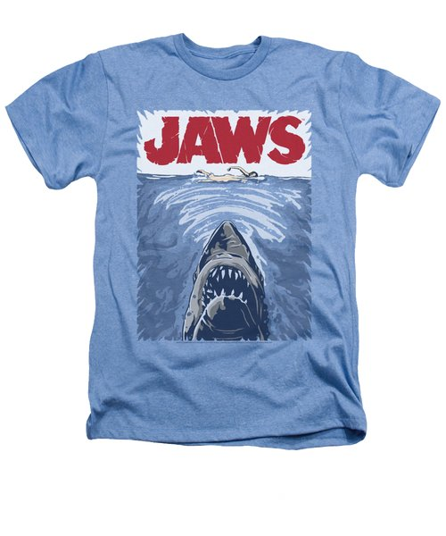 Jaws - Graphic Poster Heathers T-Shirt