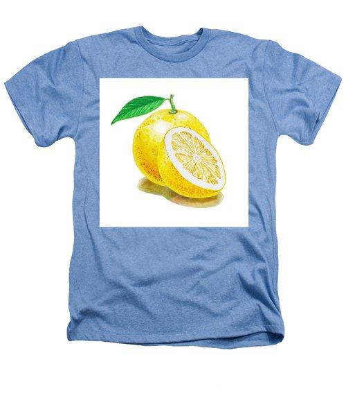 Juicy Grapefruit Heathers T-Shirt by Irina Sztukowski