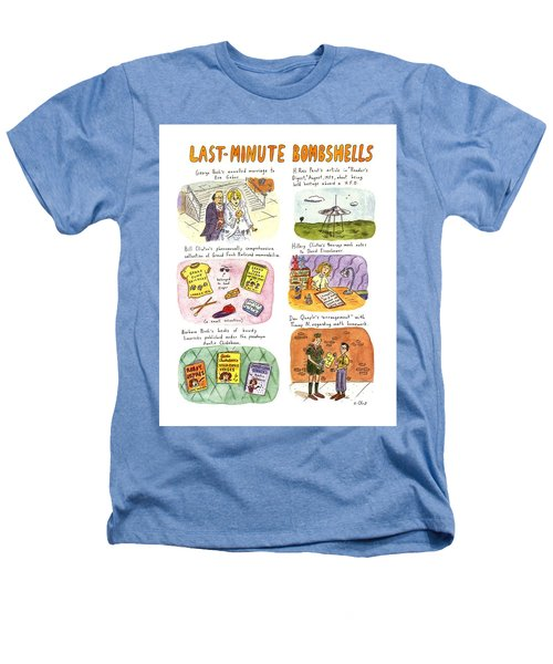 Last-minute Bombshells Heathers T-Shirt by Roz Chast