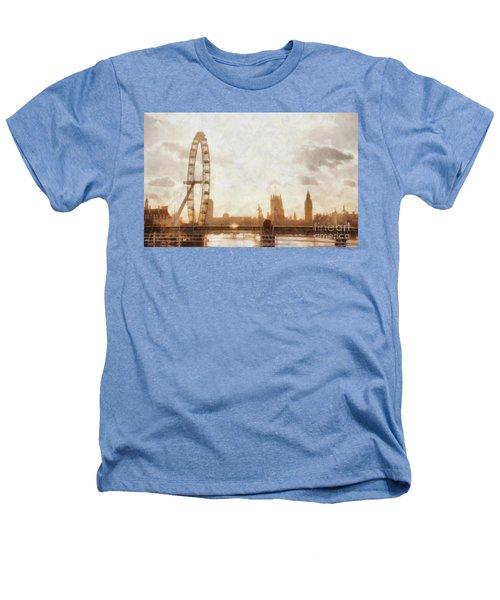 London Skyline At Dusk 01 Heathers T-Shirt by Pixel  Chimp