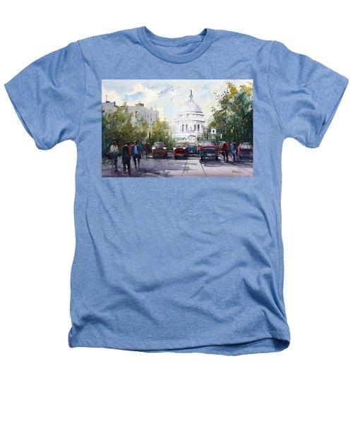 Madison - Capitol Heathers T-Shirt by Ryan Radke
