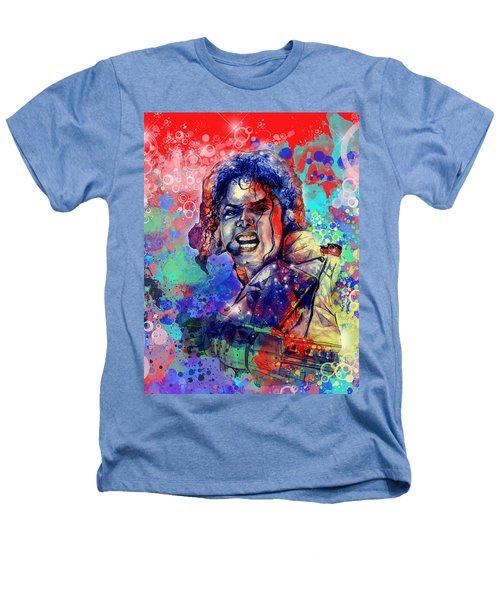 Michael Jackson 8 Heathers T-Shirt