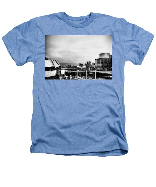 Minneapolis From The University Of Minnesota Heathers T-Shirt by Tom Gort