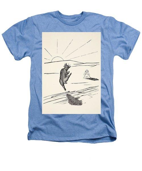 Old Man Kangaroo Heathers T-Shirt