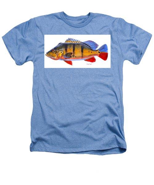 Peacock Bass Heathers T-Shirt