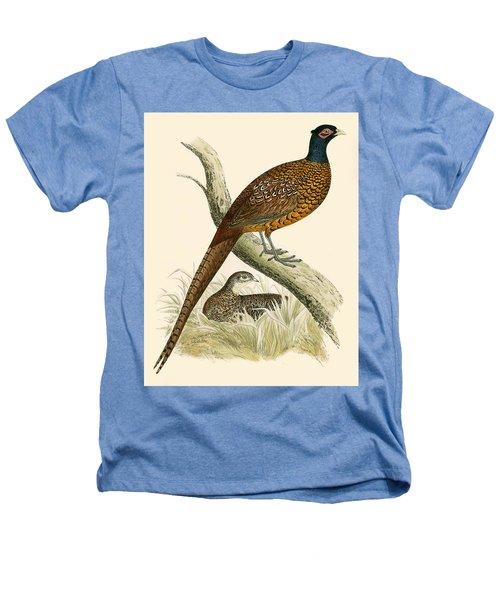 Pheasant Heathers T-Shirt by Beverley R Morris