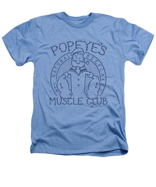Popeye - Muscle Club Heathers T-Shirt
