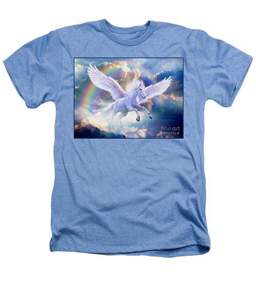 Rainbow Pegasus Heathers T-Shirt