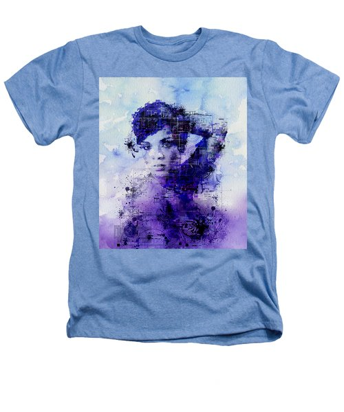 Rihanna 2 Heathers T-Shirt by Bekim Art