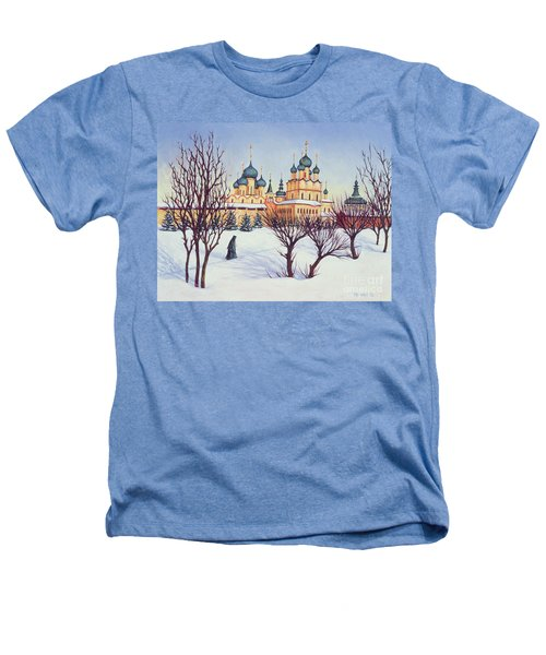 Russian Winter Heathers T-Shirt by Tilly Willis