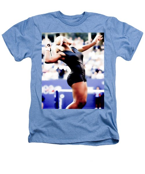 Serena Williams Catsuit Heathers T-Shirt by Brian Reaves