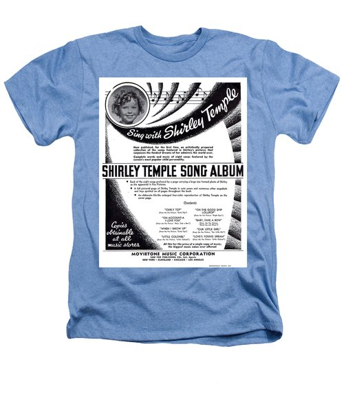 Shirley Temple Song Album Heathers T-Shirt by Mel Thompson
