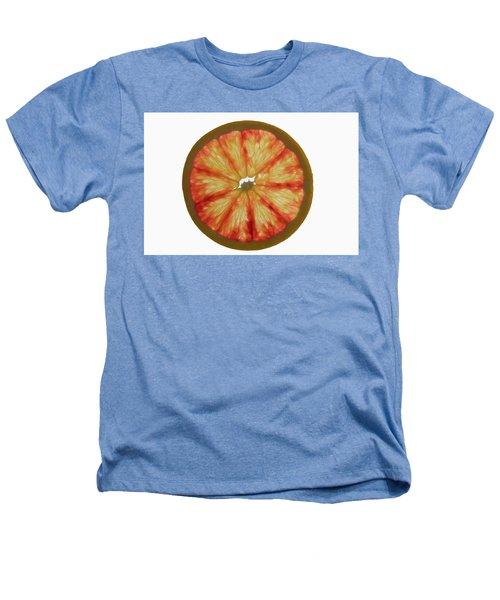 Slice Of Grapefruit, Backlit Heathers T-Shirt