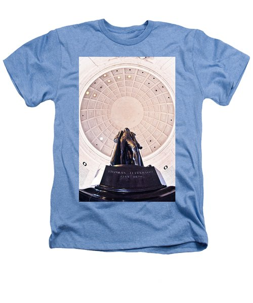 Statue Of Thomas Jefferson Heathers T-Shirt by Panoramic Images