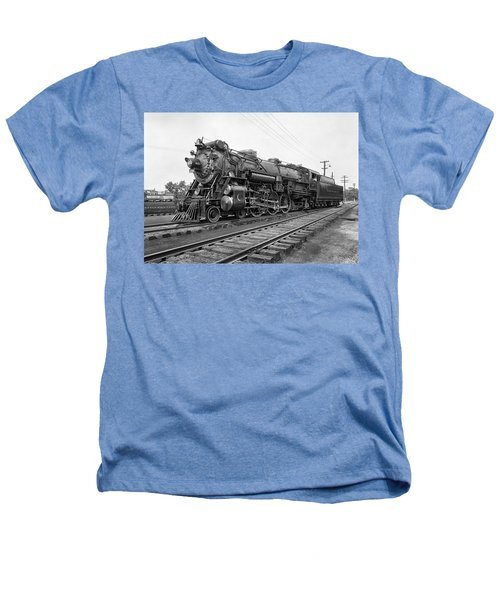 Steam Locomotive Crescent Limited C. 1927 Heathers T-Shirt by Daniel Hagerman