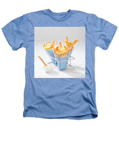 Tempura Prawns Heathers T-Shirt by Amanda Elwell