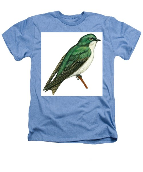 Tree Swallow  Heathers T-Shirt by Anonymous
