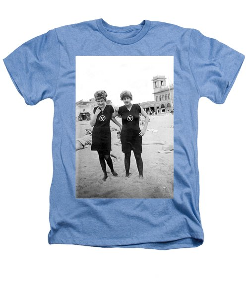 Two Girls At Venice Beach Heathers T-Shirt by Underwood Archives