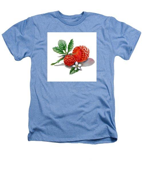 Artz Vitamins A Very Happy Raspberry Heathers T-Shirt by Irina Sztukowski