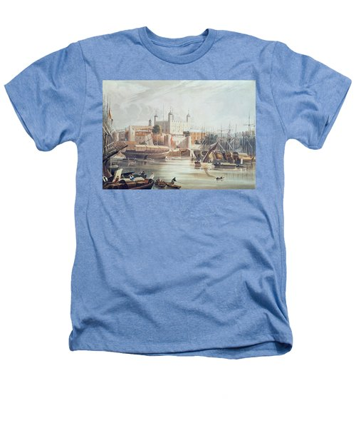 View Of The Tower Of London Heathers T-Shirt by John Gendall