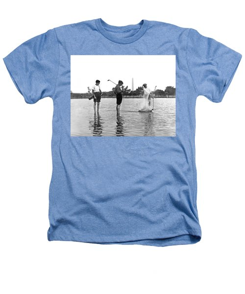 Water Hazard On Golf Course Heathers T-Shirt