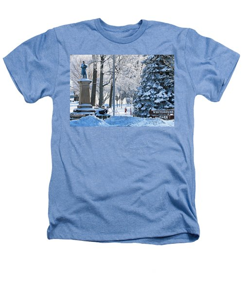 Whitehouse Village Park  7360 Heathers T-Shirt by Jack Schultz