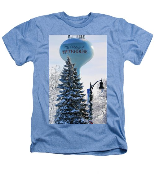 Whitehouse Water Tower  7361 Heathers T-Shirt by Jack Schultz