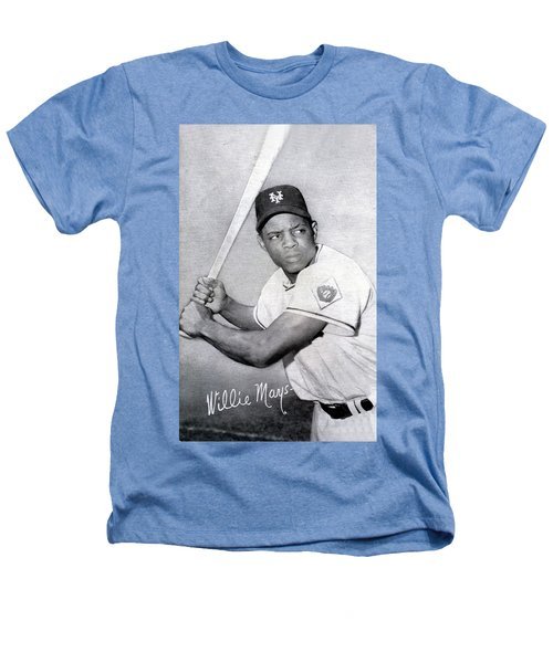 Willie Mays  Poster Heathers T-Shirt