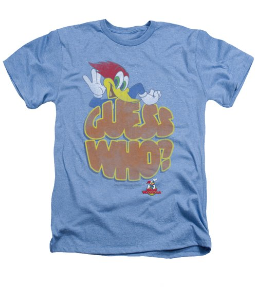 Woody Woodpecker - Guess Who Heathers T-Shirt by Brand A