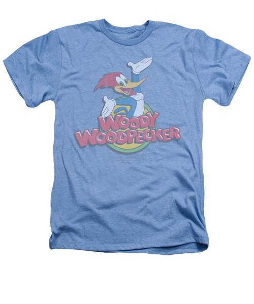 Woody Woodpecker - Retro Fade Heathers T-Shirt by Brand A