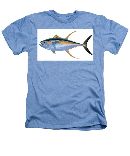 Yellowfin Tuna Heathers T-Shirt by Carey Chen
