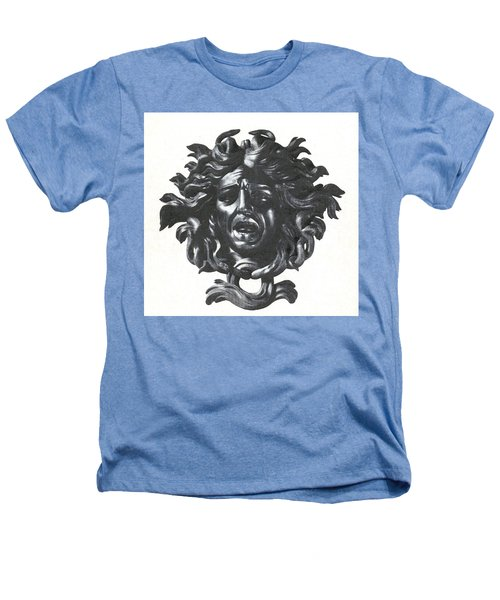 Medusa Head Heathers T-Shirt by Photo Researchers
