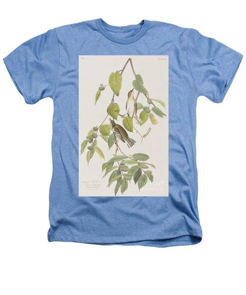 Autumnal Warbler Heathers T-Shirt by John James Audubon