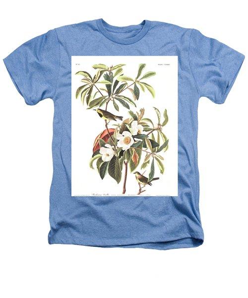 Bachman's Warbler  Heathers T-Shirt by John James Audubon