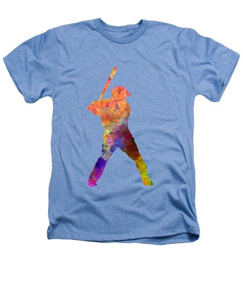 Baseball Player Waiting For A Ball Heathers T-Shirt by Pablo Romero