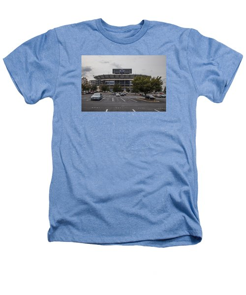 Beaver Stadium Penn State  Heathers T-Shirt by John McGraw