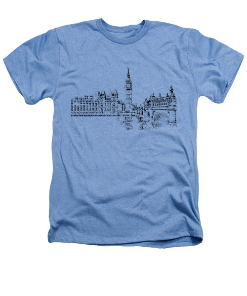 Big Ben Heathers T-Shirt by ISAW Gallery