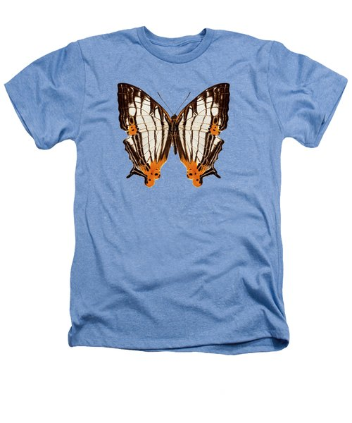 Butterfly Species Cyrestis Lutea Martini Heathers T-Shirt