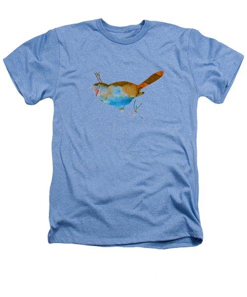 Chickadee Heathers T-Shirt by Mordax Furittus