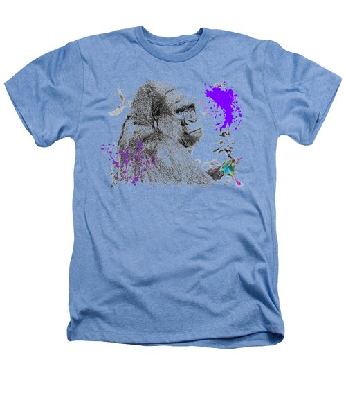 Gorilla Heathers T-Shirt by Maria Astedt