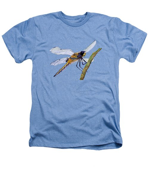 Hairy Dragonfly Of England Heathers T-Shirt