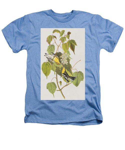 Hemlock Warbler Heathers T-Shirt by John James Audubon