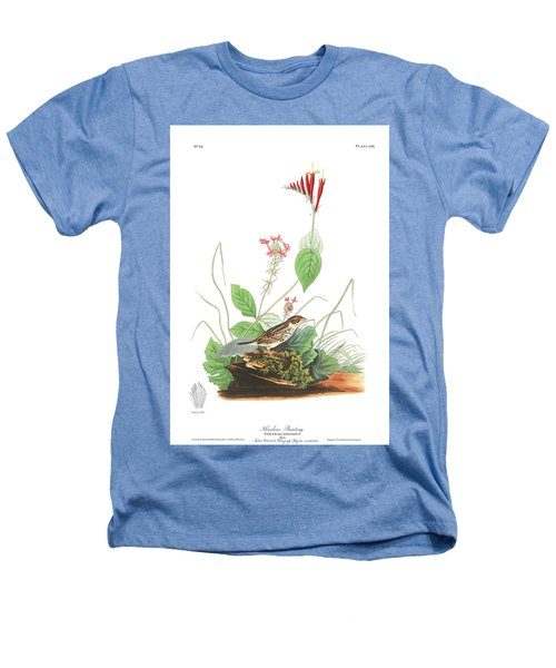 Henslow's Bunting  Heathers T-Shirt