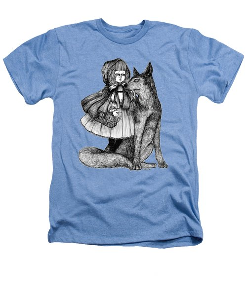 Little Red Riding Hood Heathers T-Shirt by Akiko Okabe